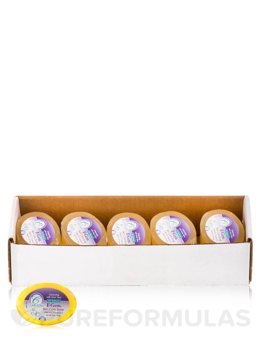 E-Gem Skin Care Soap - Box of 10 Soaps