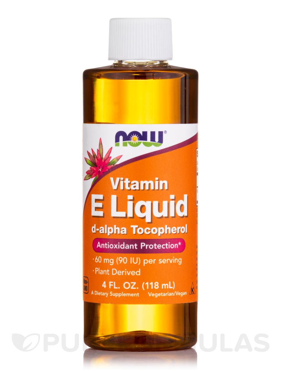 Home 187 vitamins 187 natural e liquid 4 fl oz 120 ml