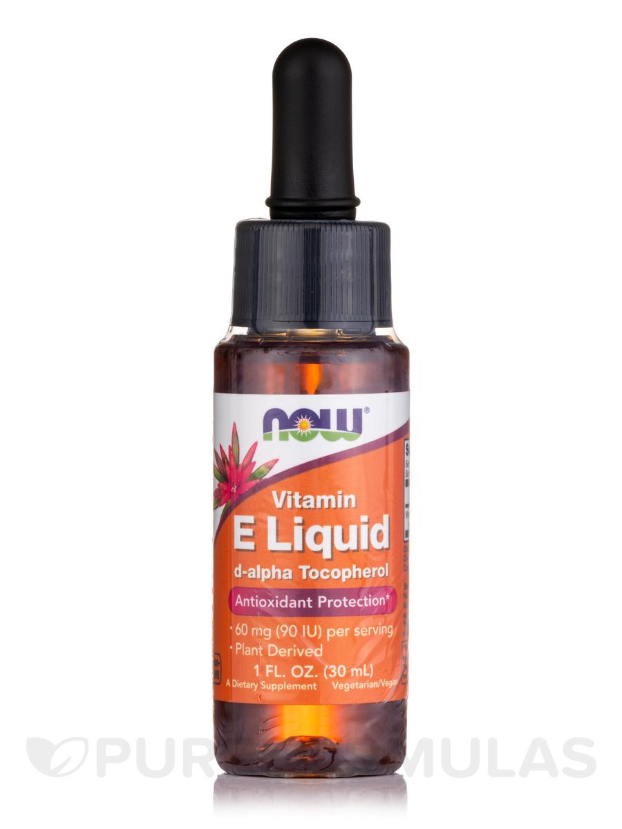E Liquid with d-alpha Tocopherol - 1 fl. oz (30 ml)