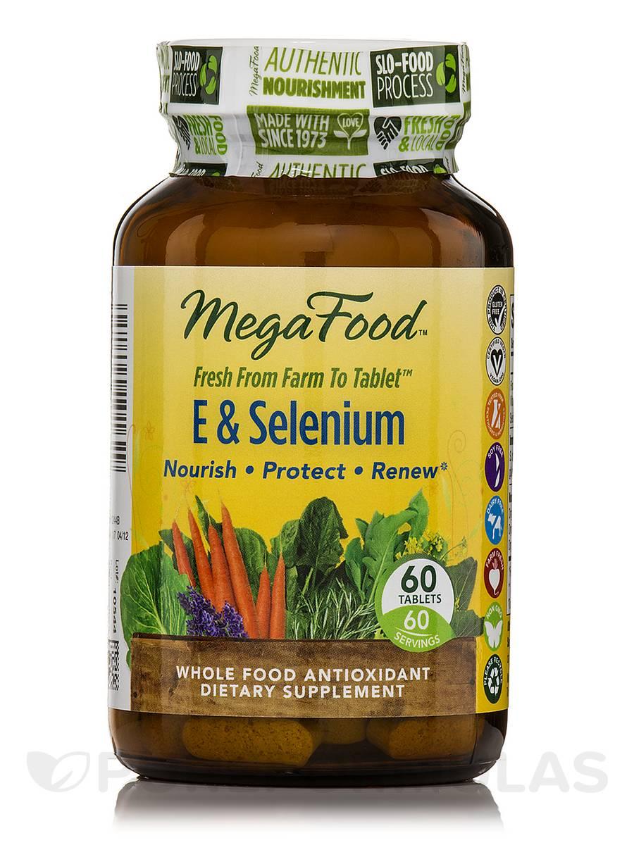 E & Selenium - 60 Tablets