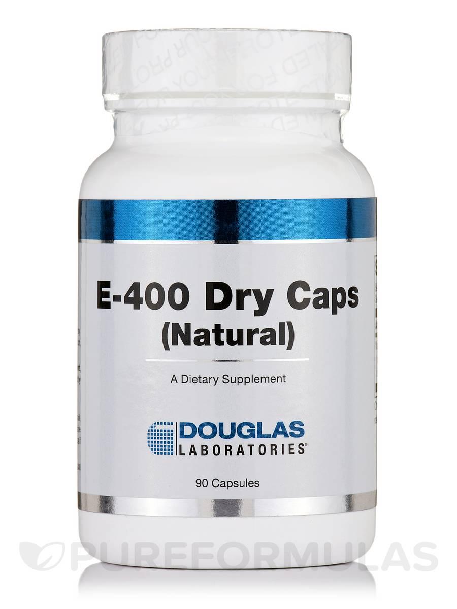 E-400 Dry Caps (Natural) - 90 Capsules