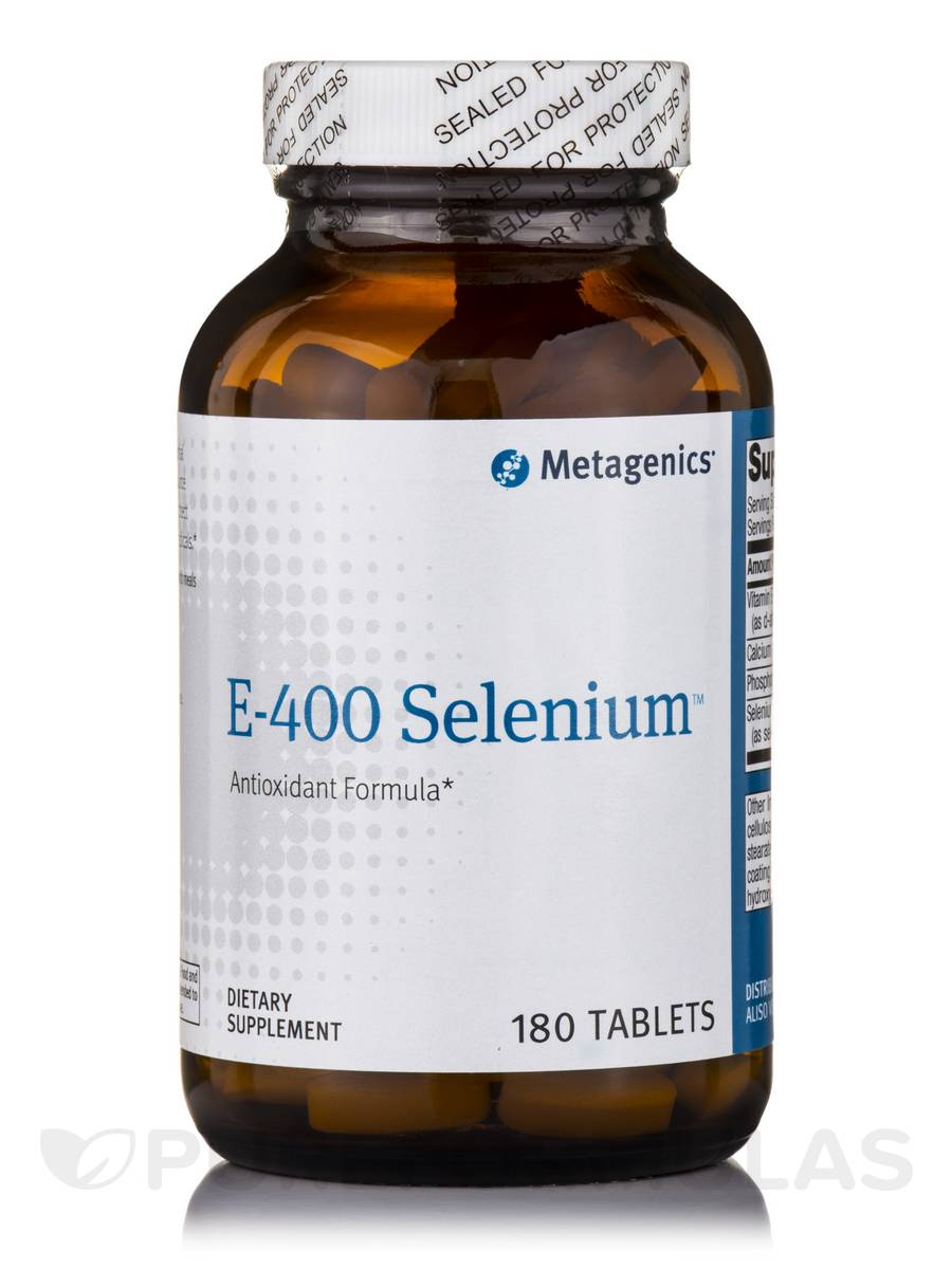 E-400 Selenium - 180 Tablets