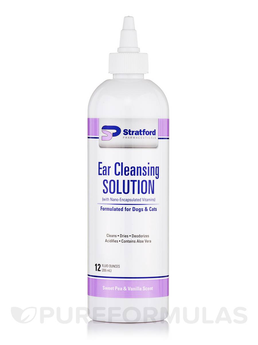 Ear Cleansing Solution (Sweet Pea & Vanilla Scent) - 12 fl. oz (355 ml)