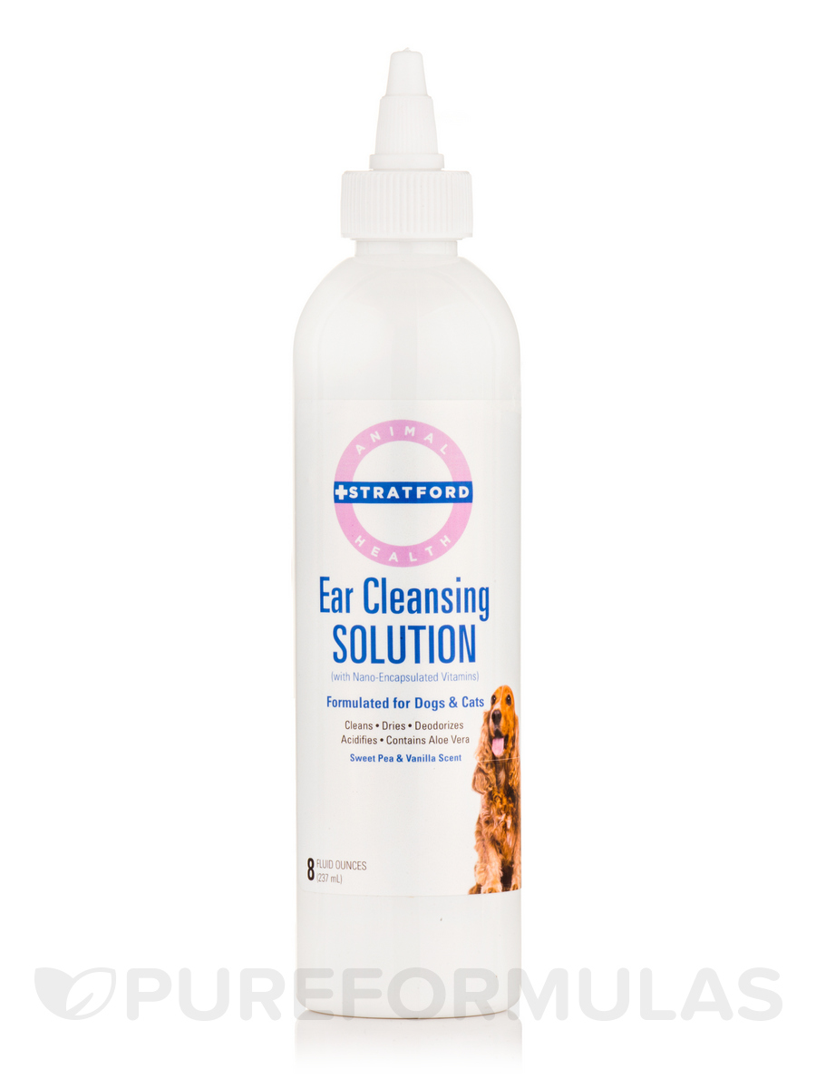 Ear Cleansing Solution for Dogs and Cats - 8 fl. oz (237 ml)