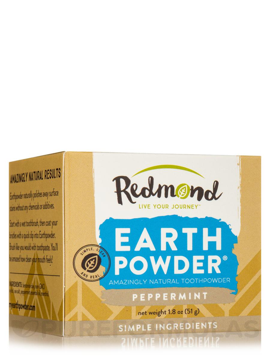 Earthpowder PeppermintToothpowder - 1.8 oz (51 Grams)