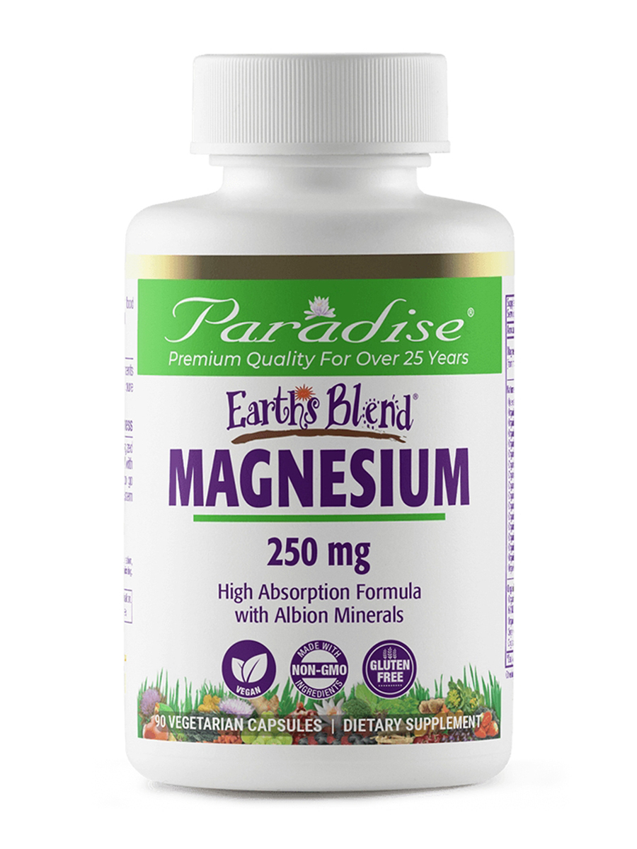 Earth's Blend® Magnesium - 90 Vegetarian Capsules