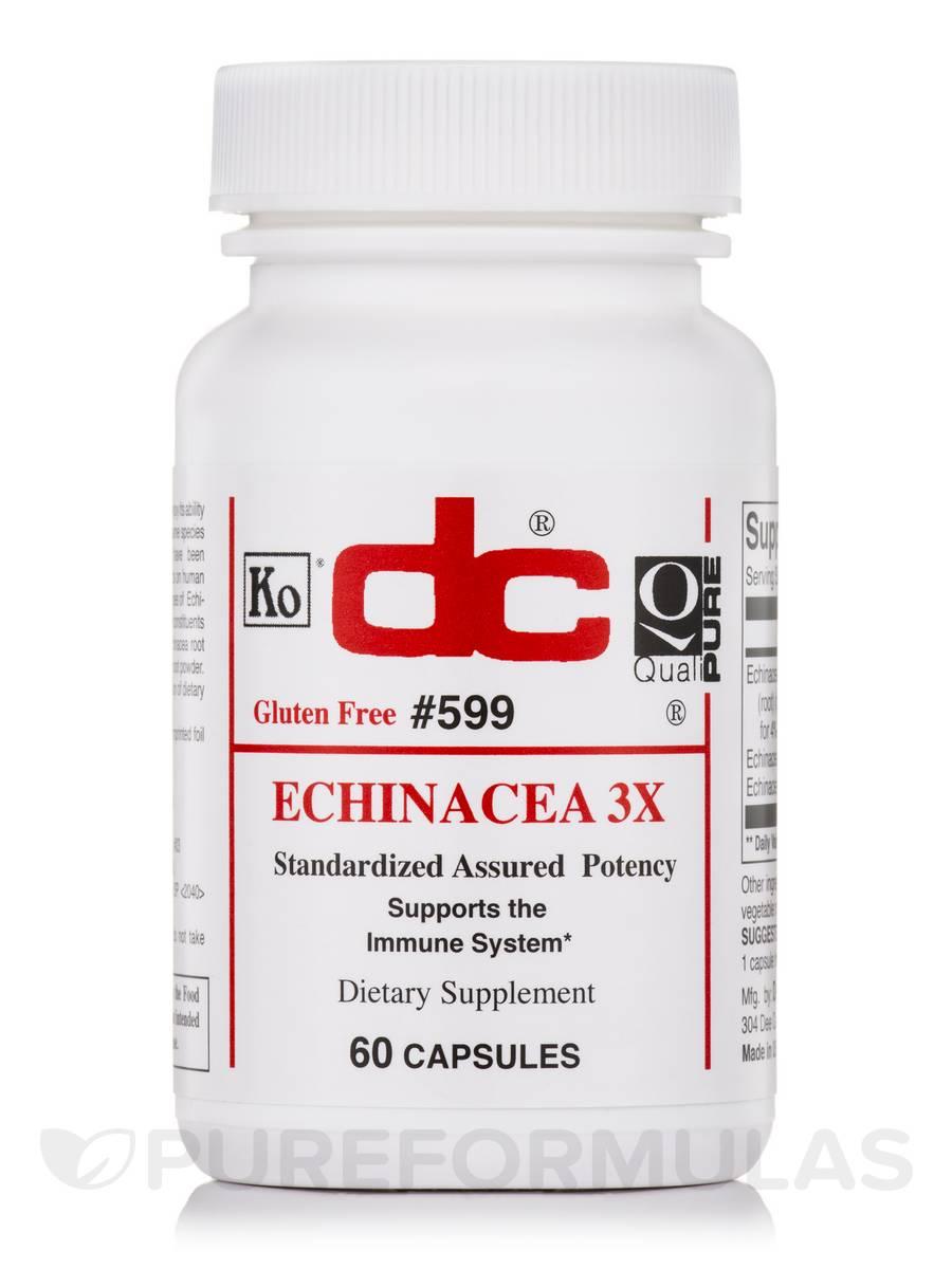 Echinacea 3X - 60 Capsules