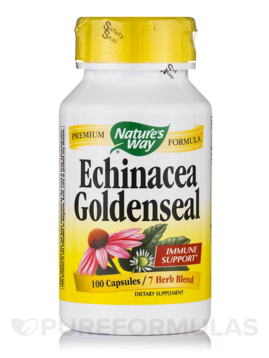 Echinacea Goldenseal 450 mg - 100 Capsules