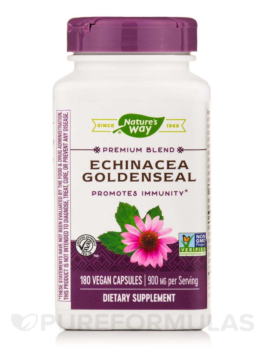 Echinacea-Goldenseal - 180 Capsules
