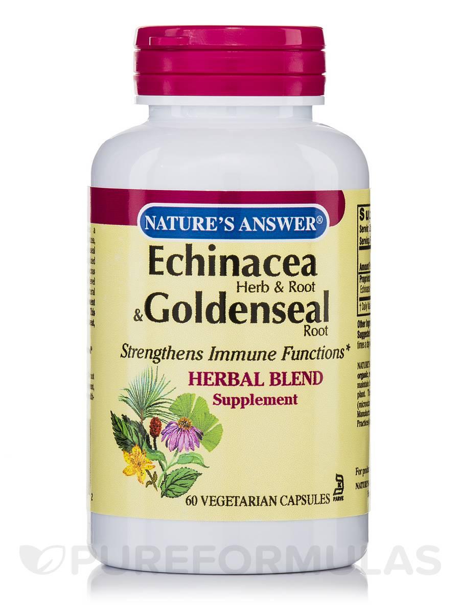 Echinacea & Goldenseal - 60 Vegetarian Capsules