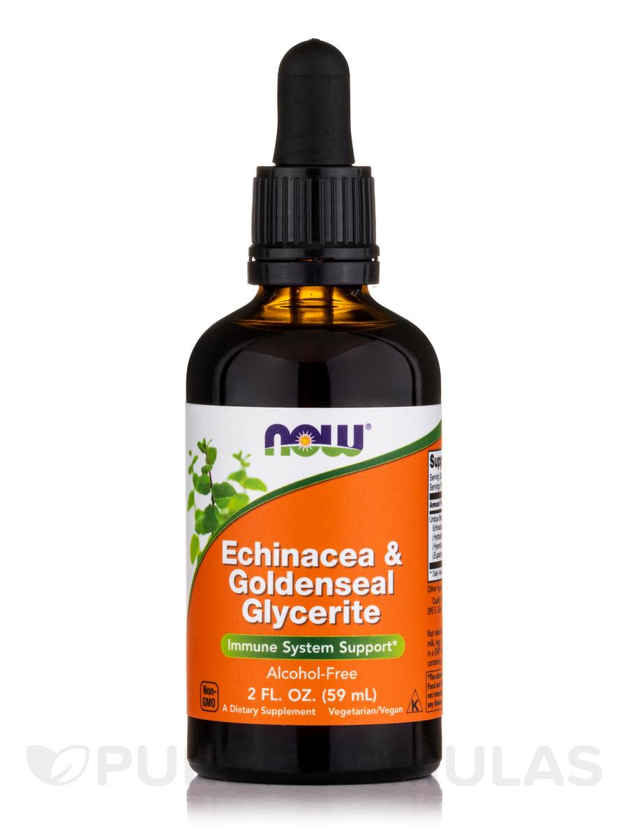 Echinacea & Goldenseal Glycerite (Alcohol-Free) - 2 fl. oz (60 ml)