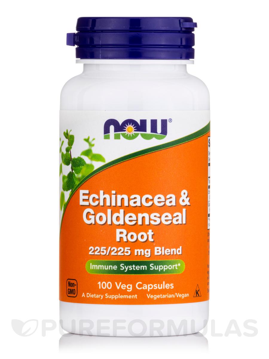 Echinacea & Goldenseal Root - 100 Capsules