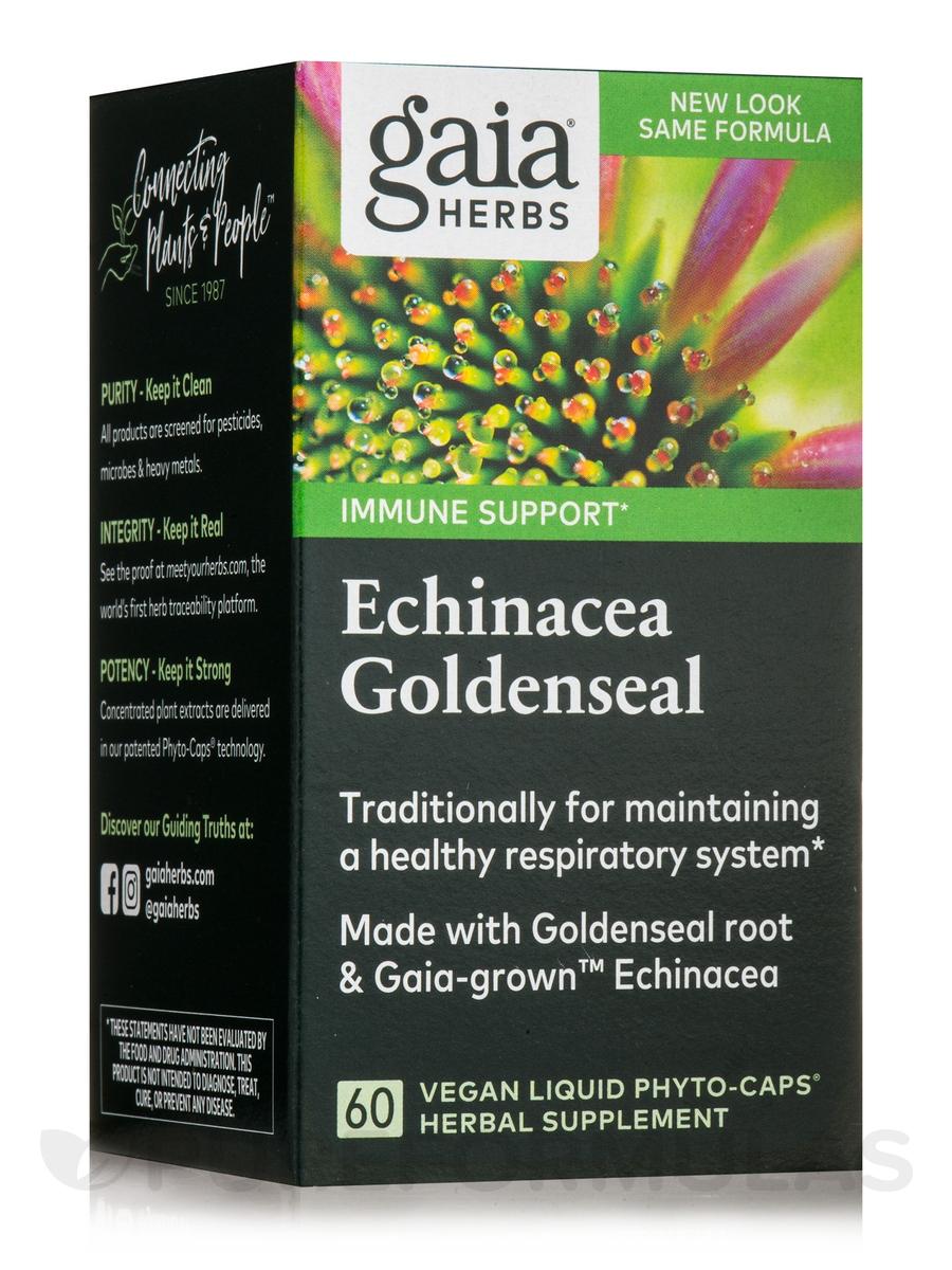 Echinacea Goldenseal - 60 Vegetarian Liquid Phyto-Caps