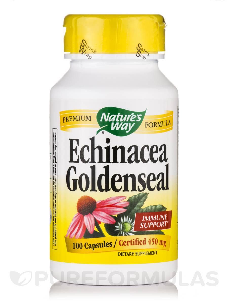 Echinacea Goldenseal - 100 Capsules