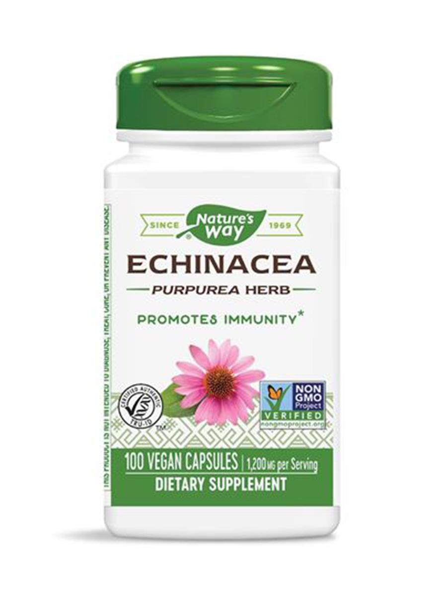 Echinacea Purpurea Herb 400 mg - 100 Capsules