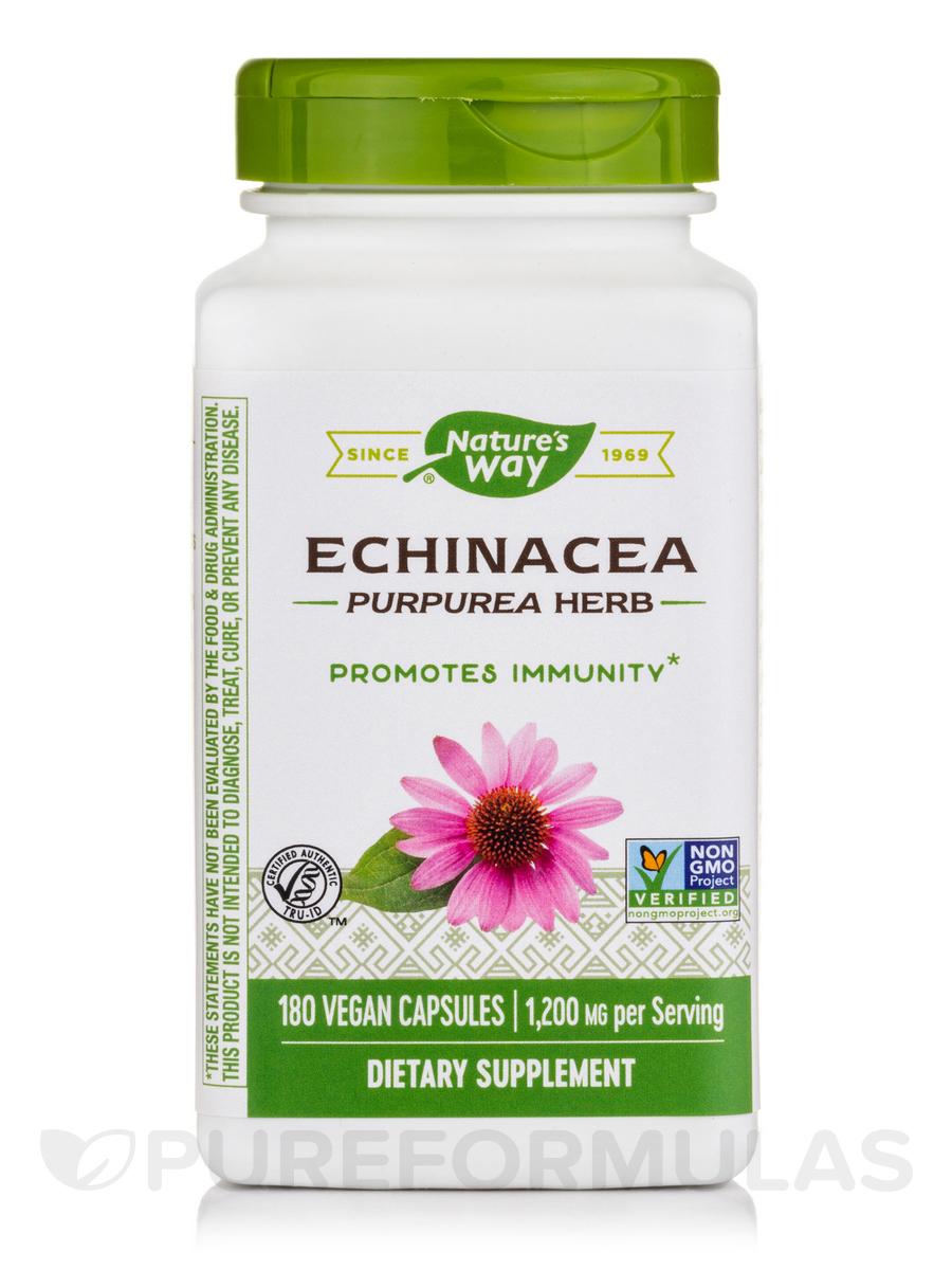 Echinacea Purpurea Herb 400 mg - 180 Capsules