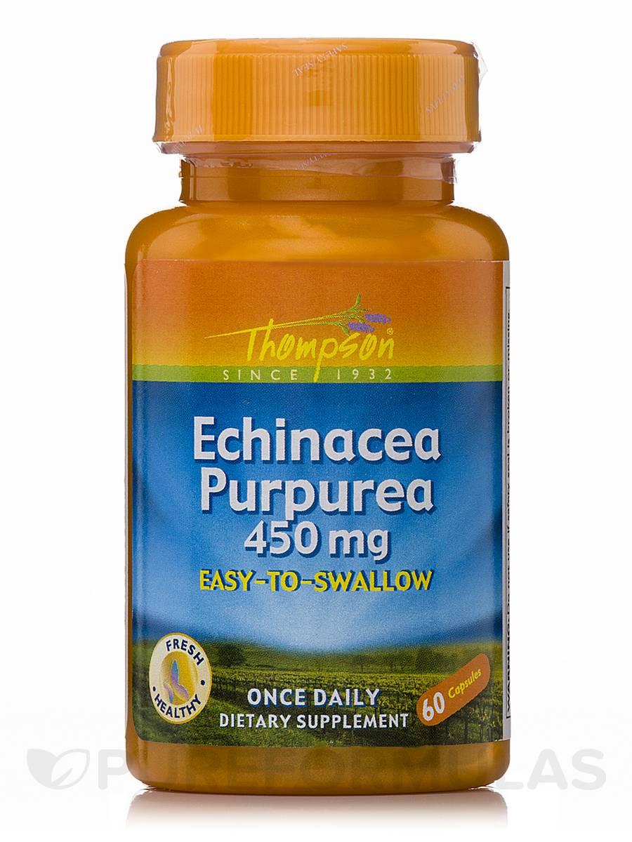 Echinacea Purpurea 450 mg - 60 Capsules