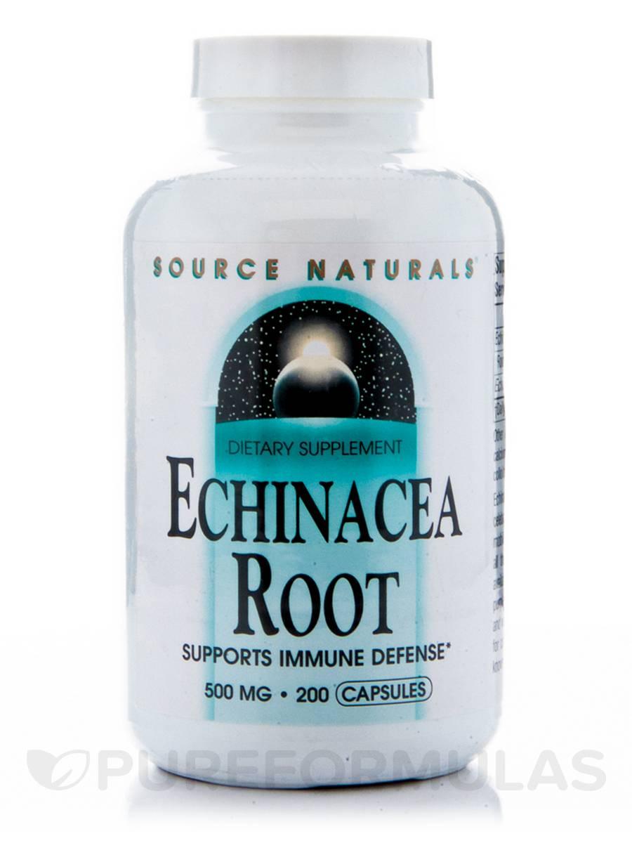 Echinacea Root 500 mg - 200 Capsules