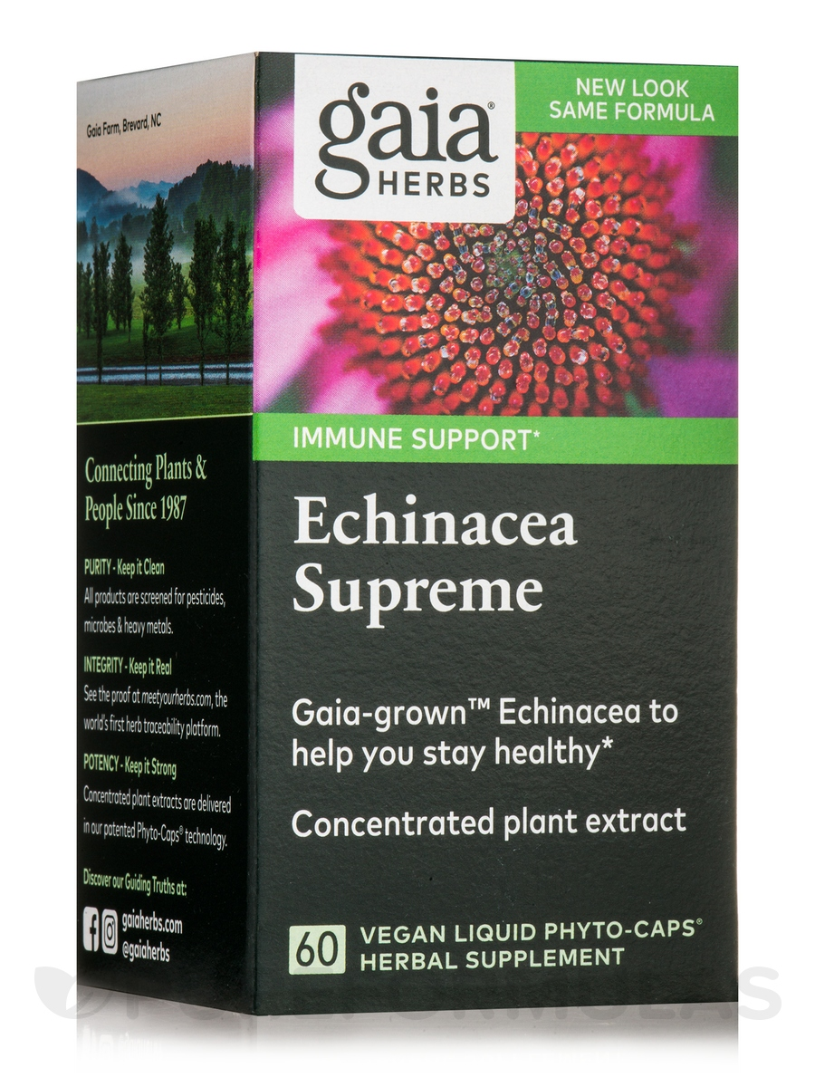 Echinacea Supreme - 60 Vegan Liquid Phyto-Caps®