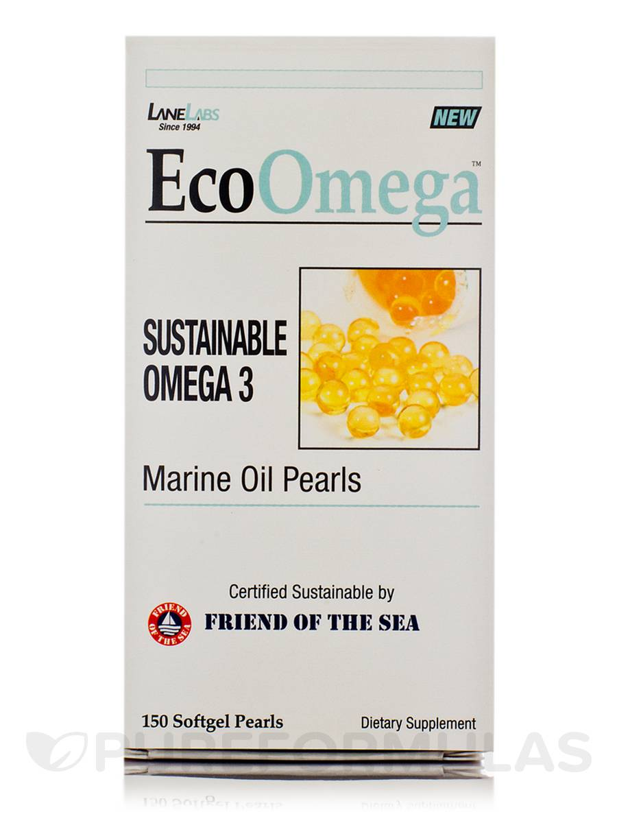 Eco Omega - 150 Softgel Pearls