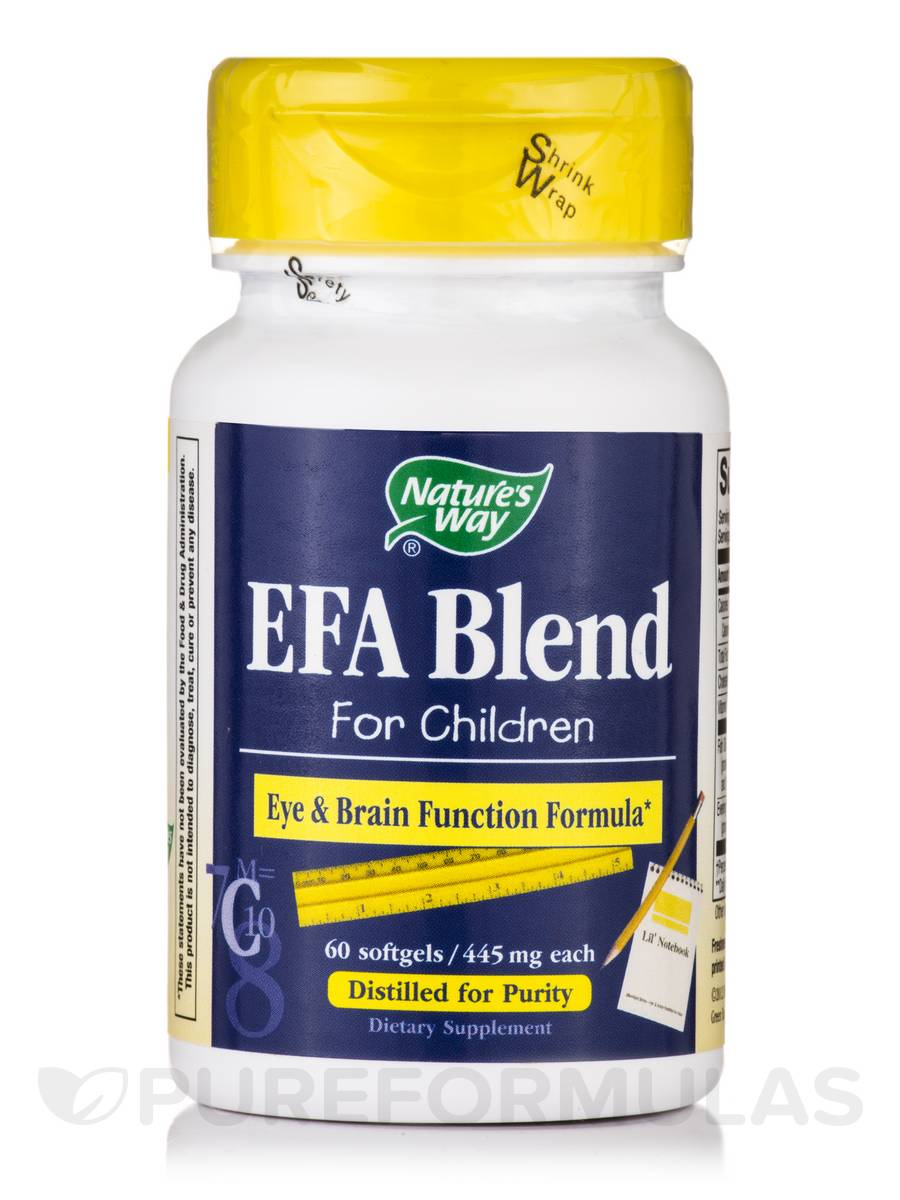EFA Blend for Children - 60 Softgels