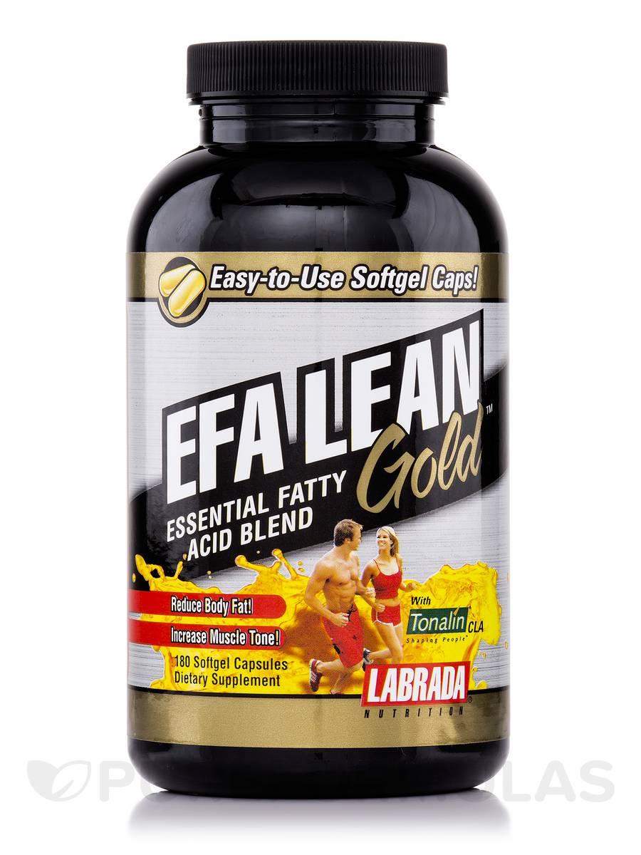 EFA Lean Gold Gelcaps - 180 Softgel Capsules