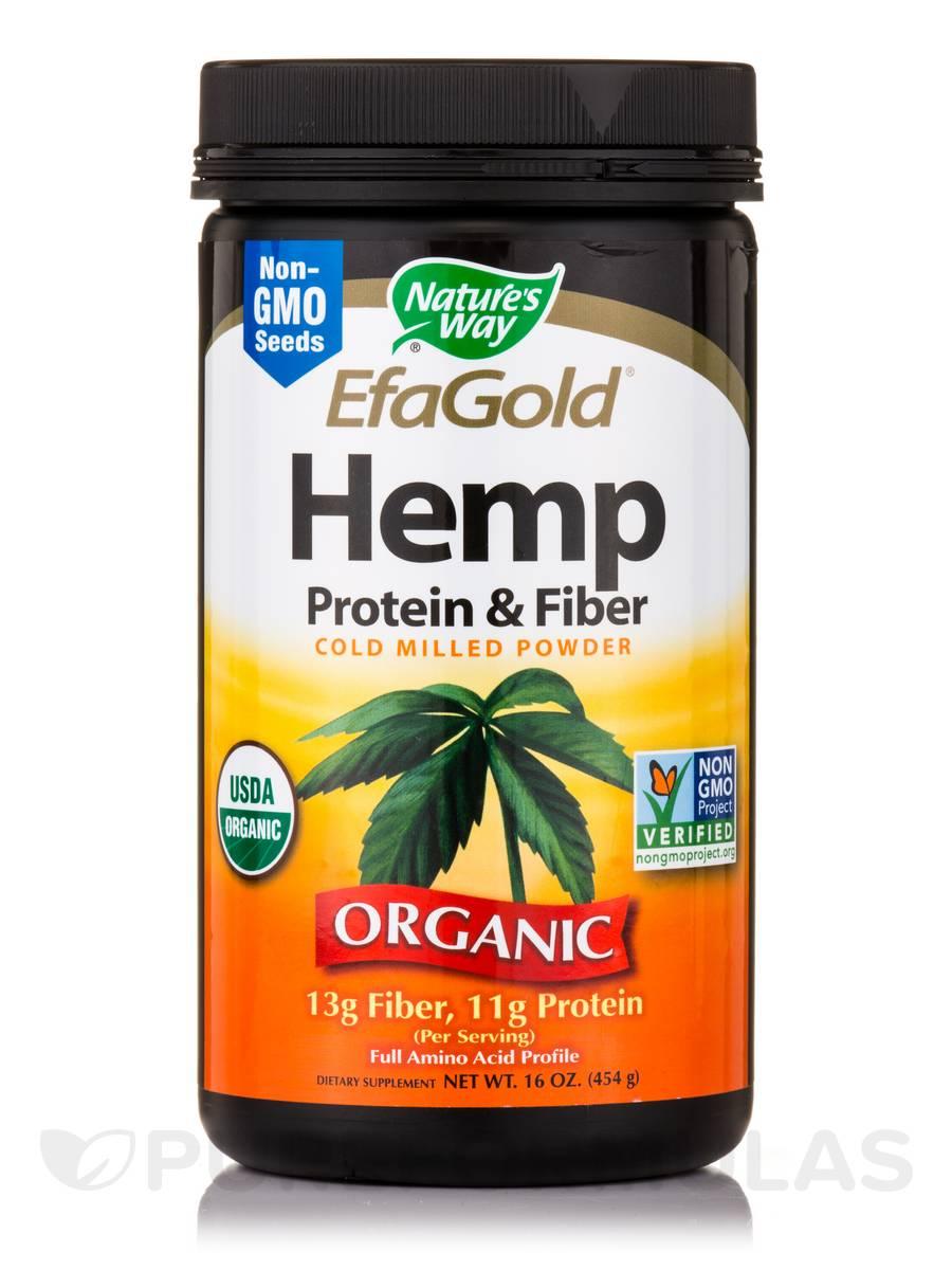 EfaGold® Hemp Protein & Fiber - 16 oz (454 Grams)