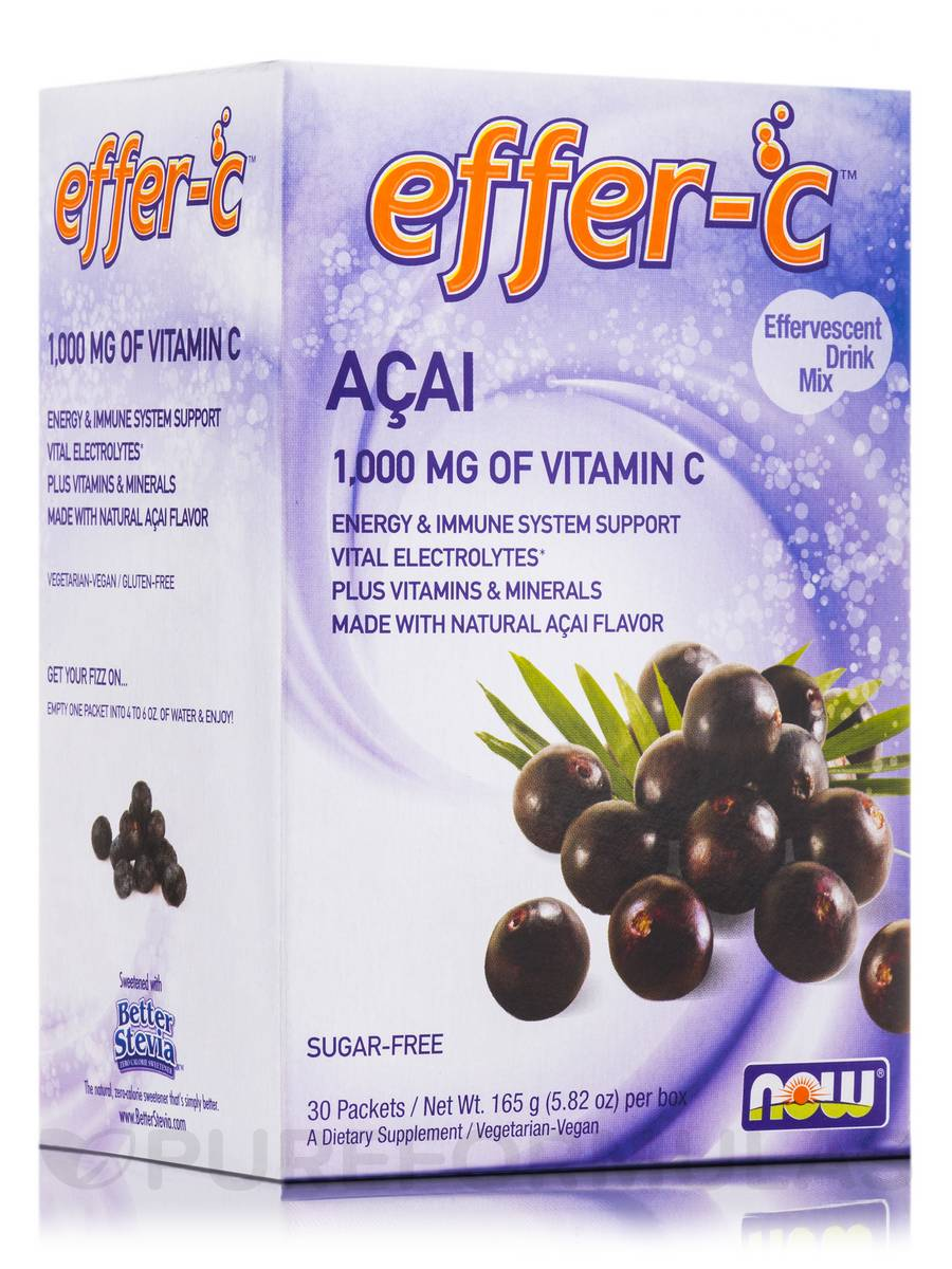 Effer-C™ Acai Berry - Box of 30 Packets
