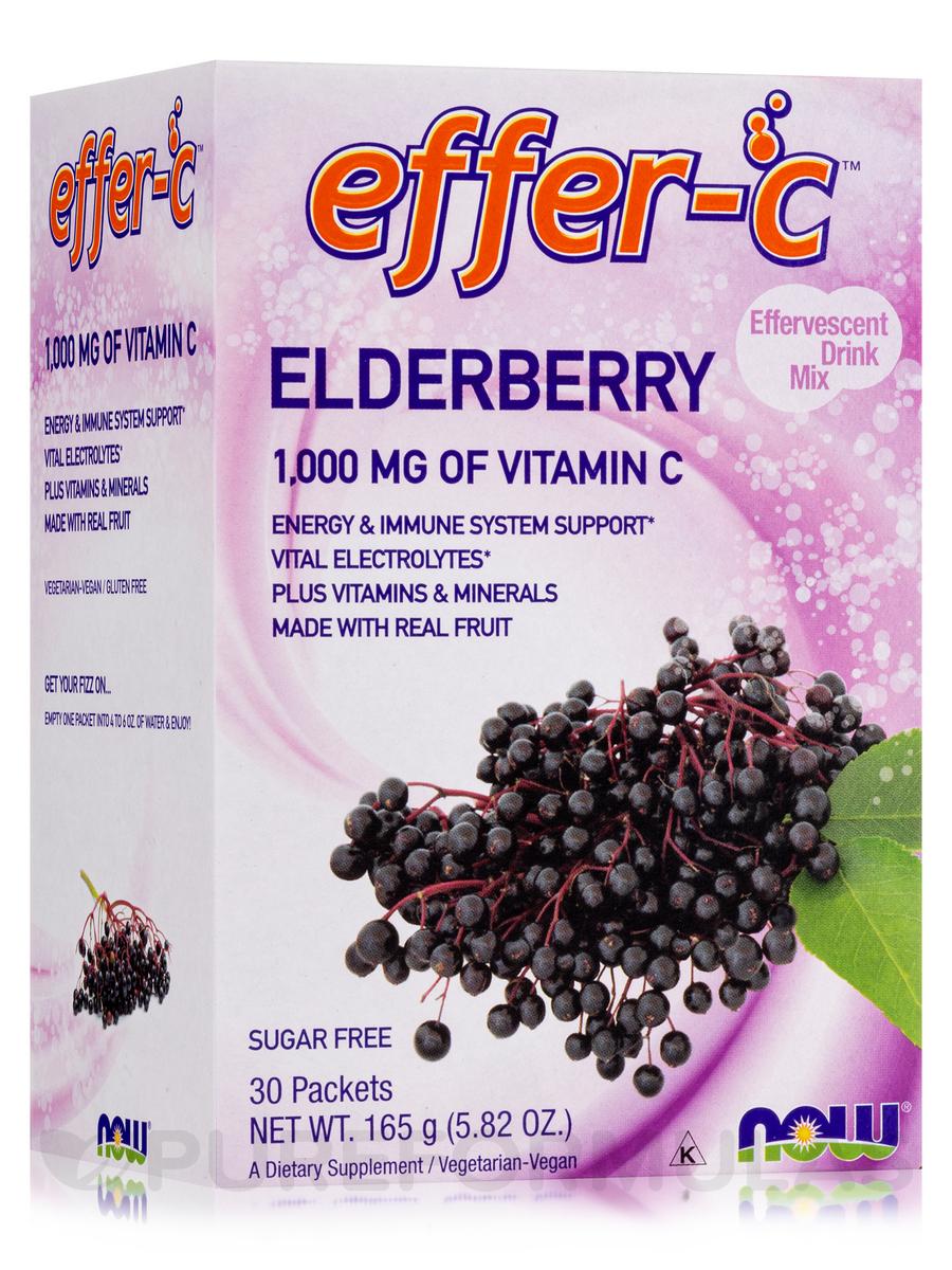 Effer-C™ Elderberry - Box of 30 Packets