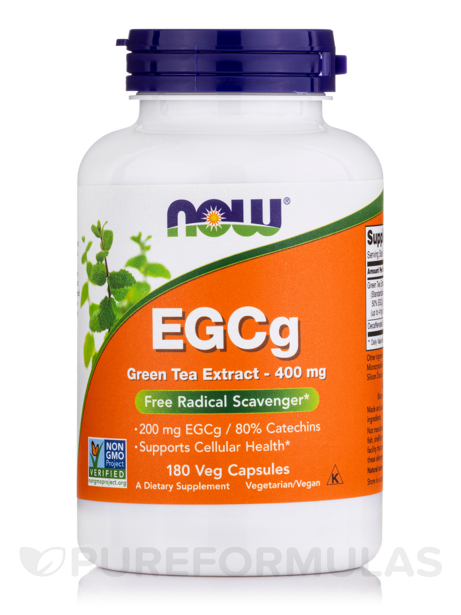 EGCg 400 mg - 180 Veg Capsules