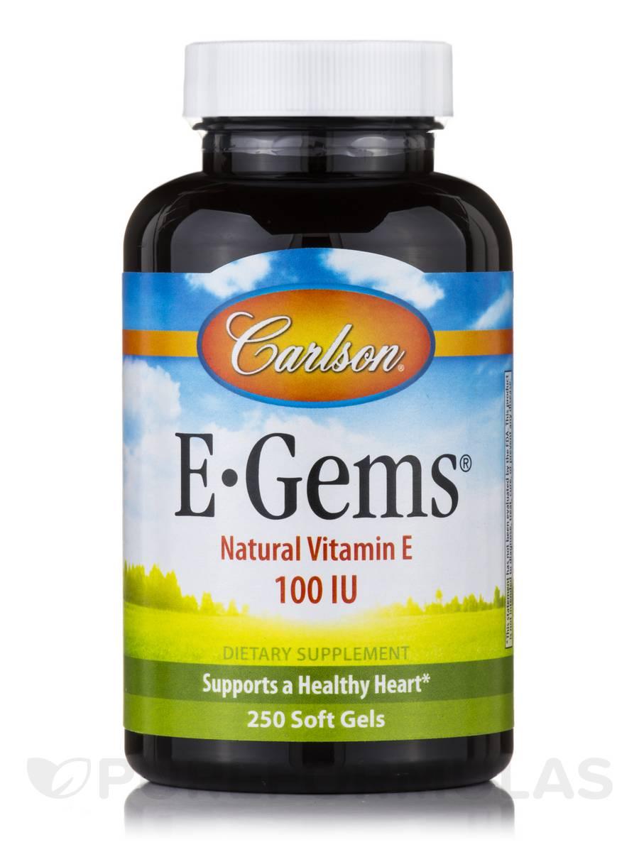 E-Gems® 100 IU - 250 Soft Gels
