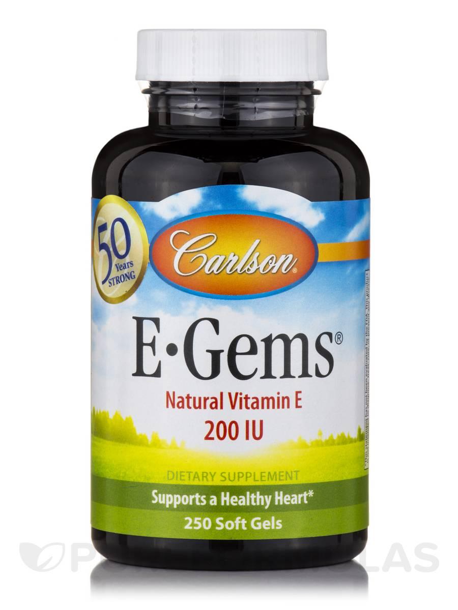 E-Gems® 200 IU - 250 Soft Gels