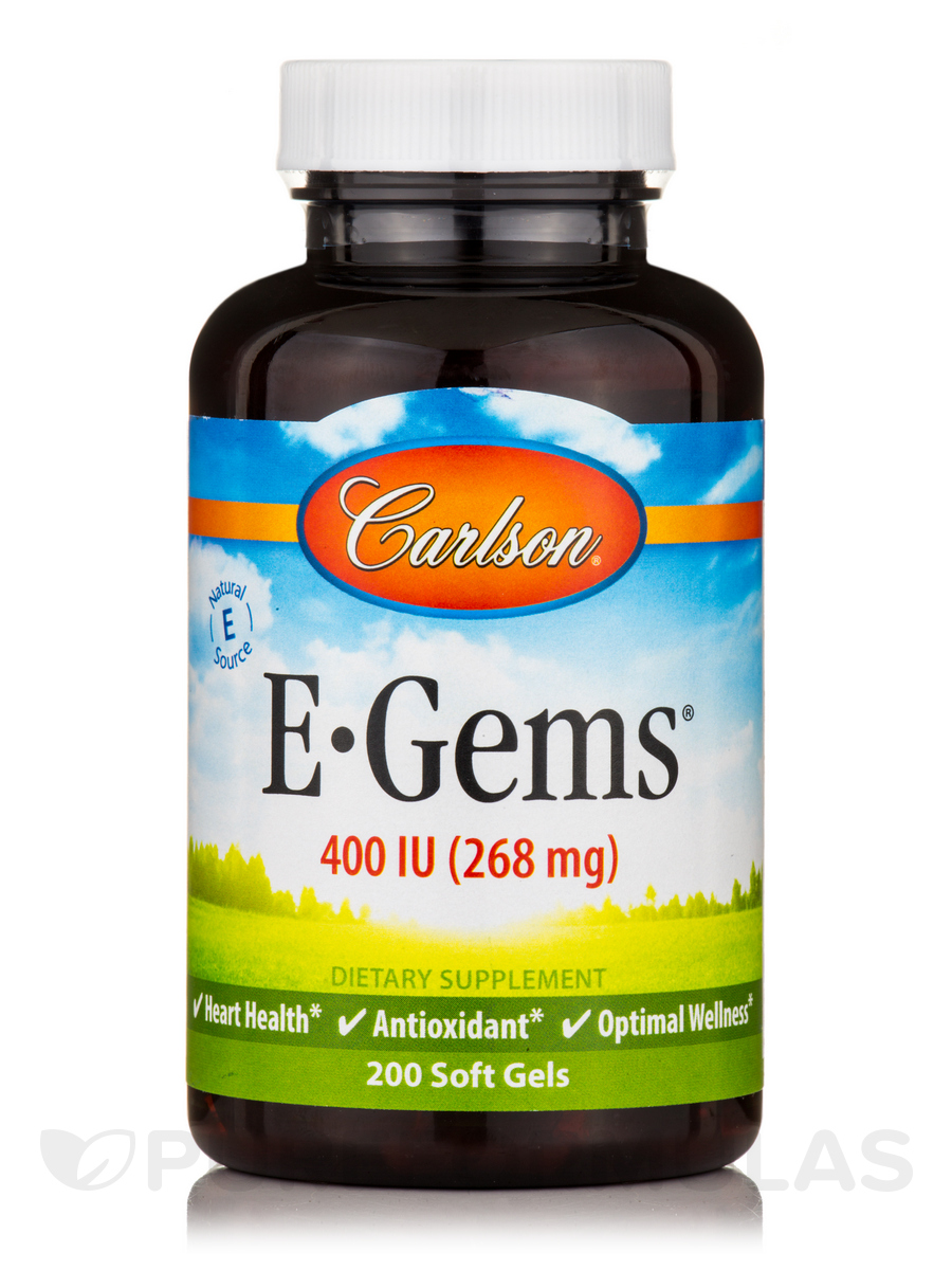 E-Gems® 400 IU (268 mg) - 200 Soft Gels