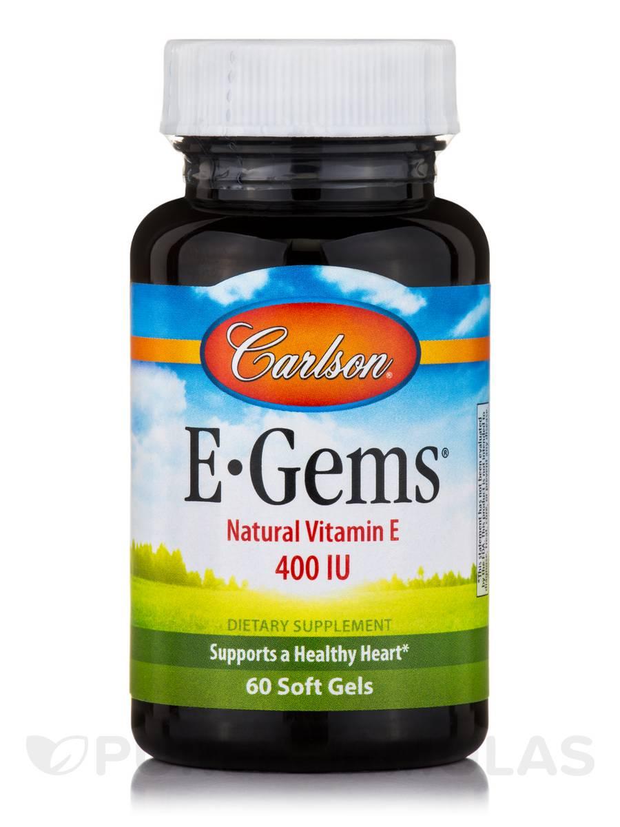 E-Gems® 400 IU - 60 Soft Gels