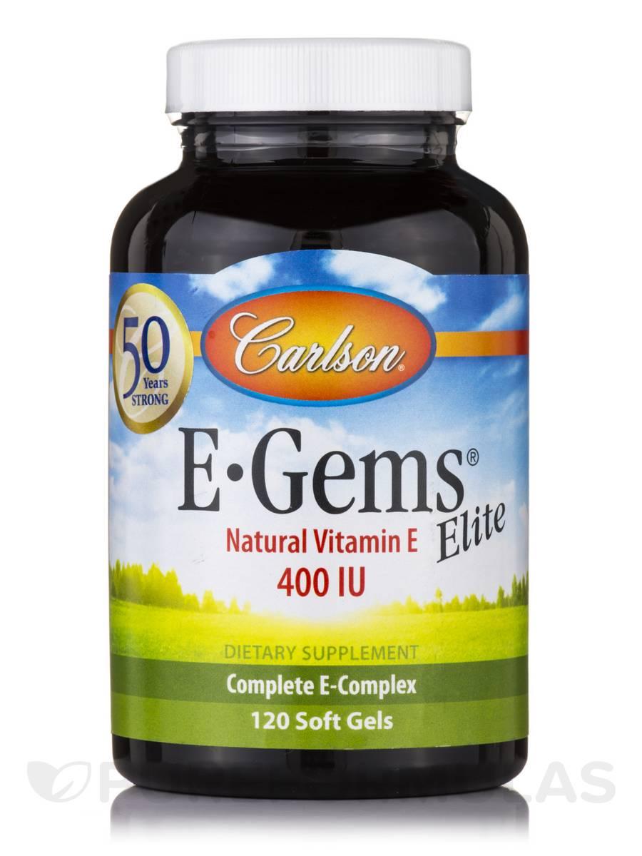 E-Gems® Elite 400 IU - 120 Soft Gels