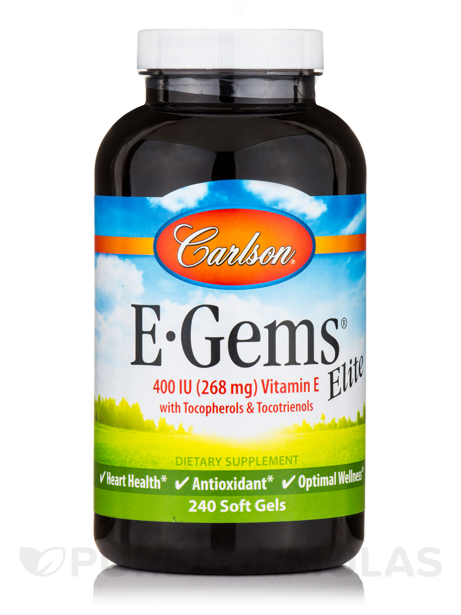 E-Gems® Elite 400 IU - 240 Soft Gels