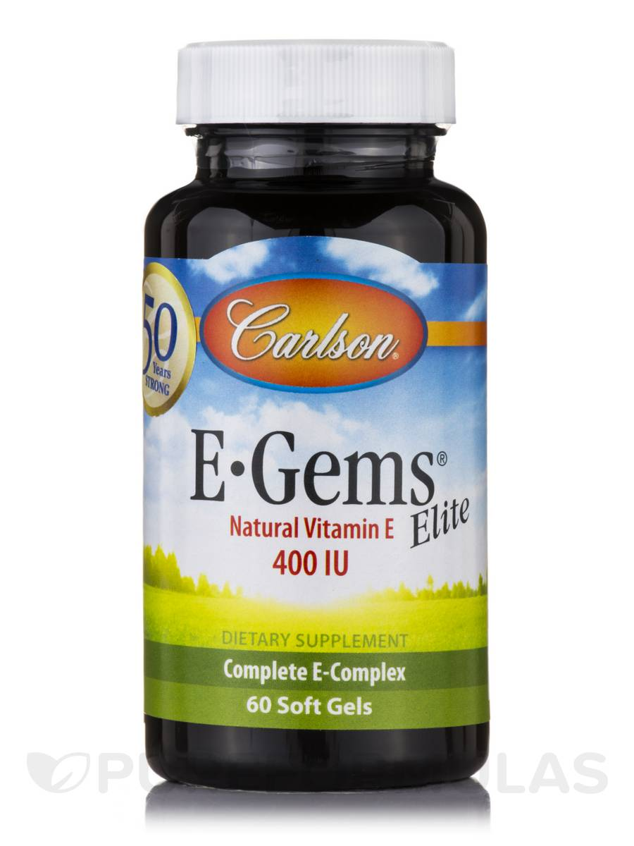 E-Gems® Elite 400 IU (268 mg) - 60 Soft Gels