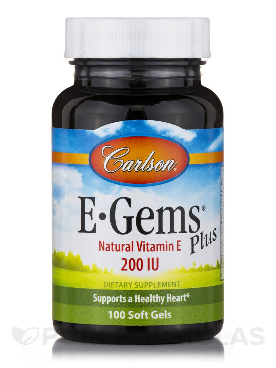 E-Gems® Plus 200 IU - 100 Soft Gels
