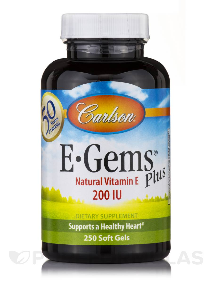 E-Gems® Plus 200 IU - 250 Soft Gels