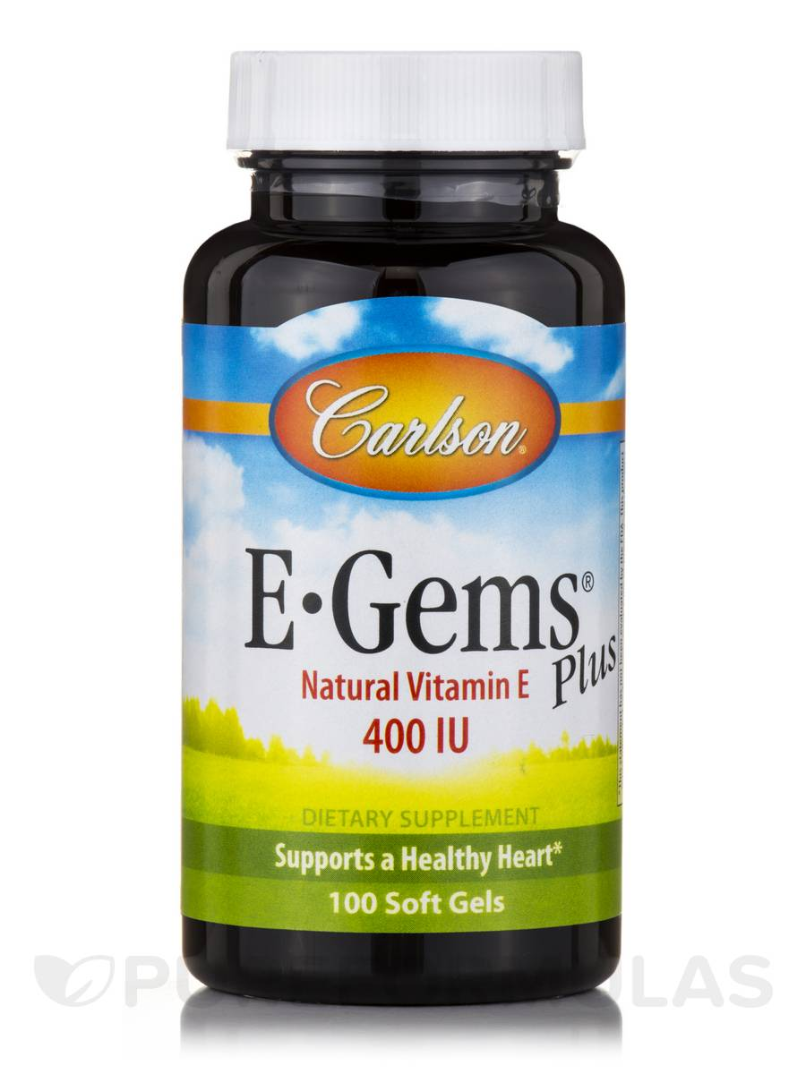 E-Gems® Plus 400 IU - 100 Soft Gels