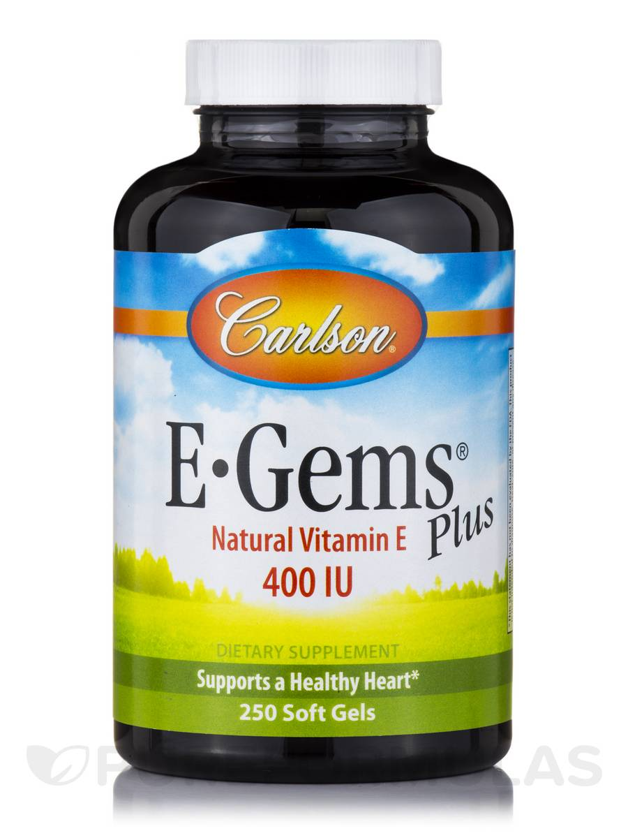 E-Gems® Plus 400 IU - 250 Soft Gels