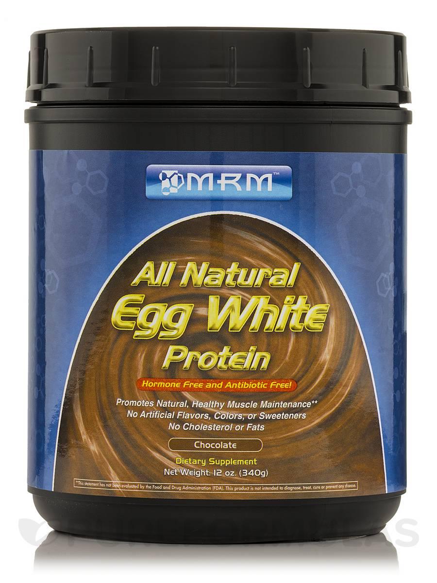 Egg White Protein (Chocolate) - 12 oz (340 Grams)