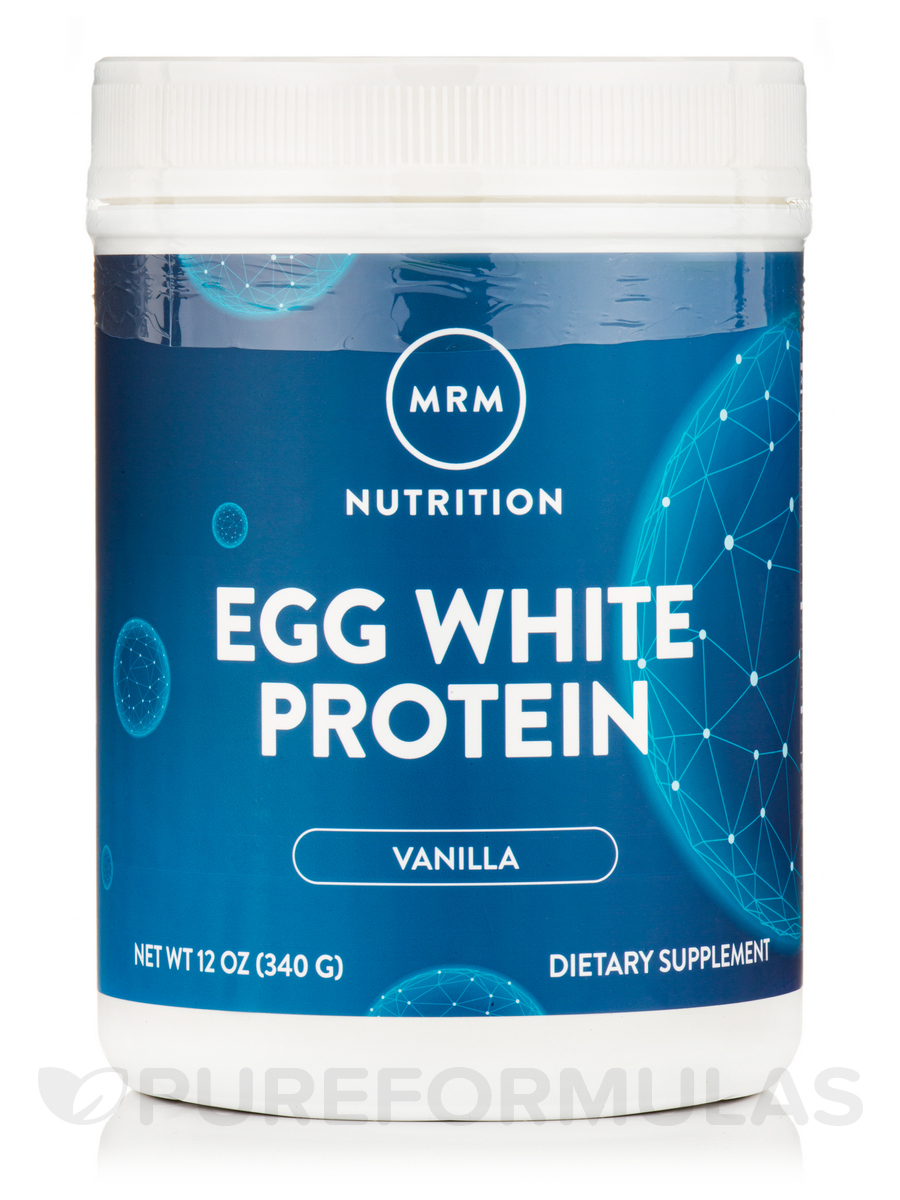 Egg White Protein (French Vanilla) - 12 oz (340 Grams)