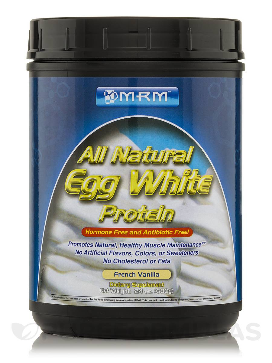 Egg White Protein (French Vanilla) - 24 oz (680 Grams)