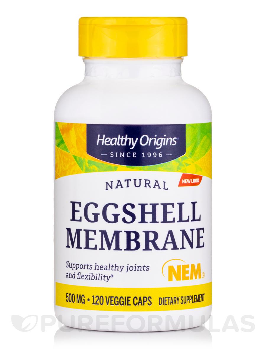 Eggshell Membrane 500 mg (NEM®) - 120 Vegetarian Capsules