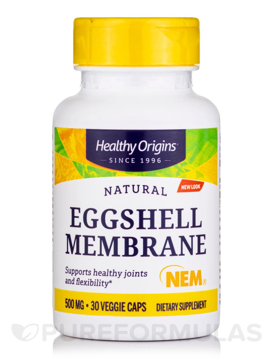 Eggshell Membrane 500 mg (NEM®) - 30 Vegetarian Capsules