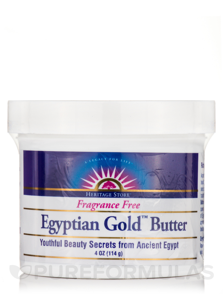 Egyptian Gold™ Butter, Fragrance Free - 4 oz (114 Grams)
