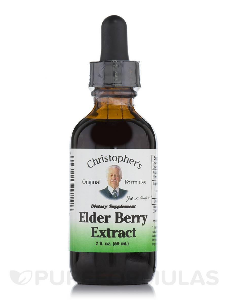 Elder Berry Extract - 2 fl. oz (59 ml)