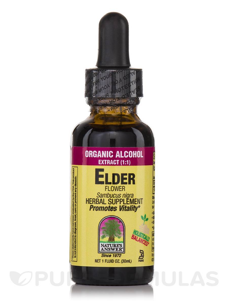 Elder Flower Extract - 1 fl. oz (30 ml)