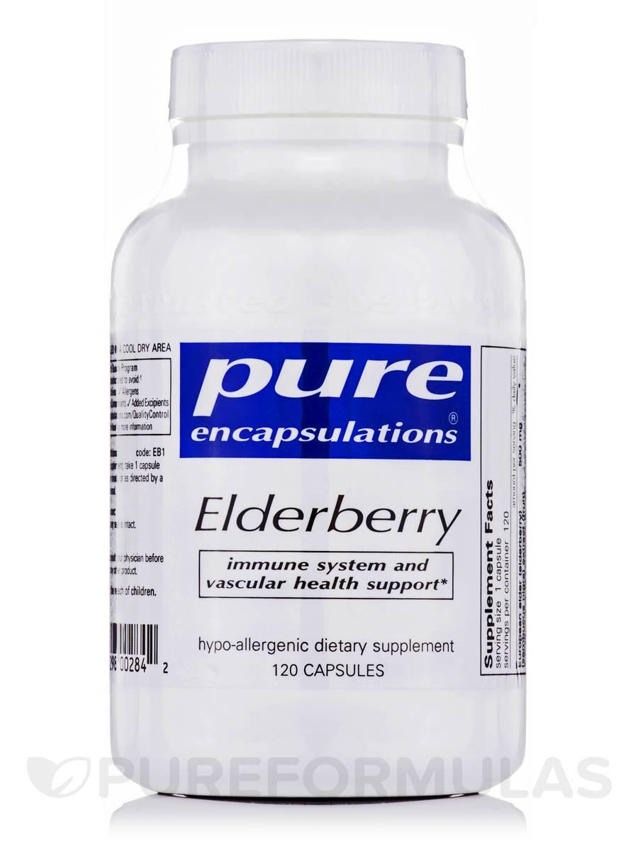 Elderberry - 120 Capsules
